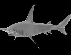 Great Hammerhead Predator 3D Printable