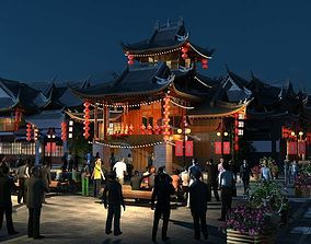 China street 044 3D model