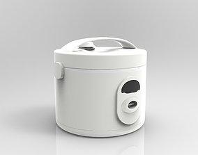 Rice Cooker 3D Model