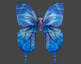 3D Blue Butterfly