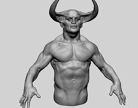 Creature Upperbody v2 3D
