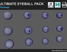 Ultimate Eyeball Pack Models 3D
