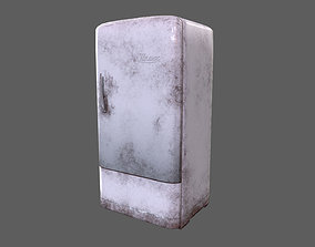 Retro Old Post-Apocalyptic Fridge 3D model