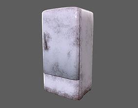 Retro Old Post-Apocalyptic Fridge 3D model