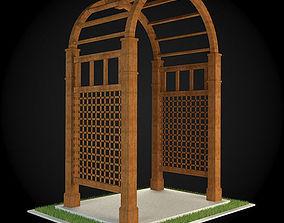decorative 3D model Pergola