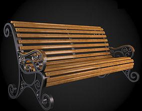 3D model 3d Bench