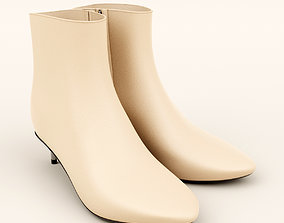 3D Ankle Boots