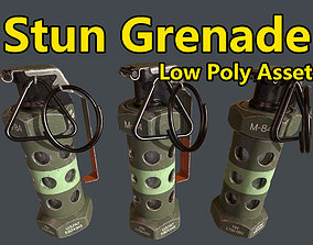 Stun Grenade - Low Poly Assets VR / AR ready