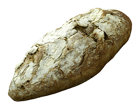 Photorealistic 3D Scanned Beer Bread