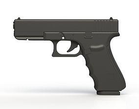 3D printable model Glock 17 Gen 4