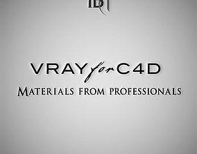 3D Professional Vray Materials for C4D