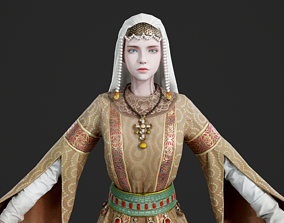 Zoe the Macedonian Byzantine emperors Beauty of 3D asset 2
