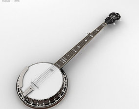 string Banjo 3D model