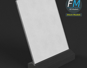 3D model Table tent template 6