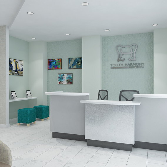 Tooth clinic renders