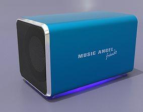 Music Angel Friendz 3D model