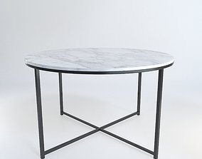 Modern marble table by Mio 3D model