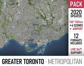 metropolitan 3D model Greater Toronto