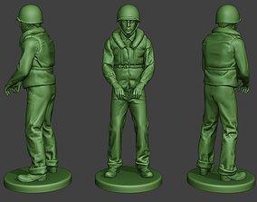 3D print model US Navy Sailor ww2 Action2 USN1
