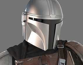 3D print model The Mandalorian Wearable Helmet Most 2