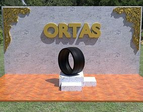ORTAS TIRE NO 24 GAME READY AND 3D PRINTABLE