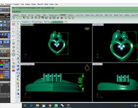 Heart Pendent 3D printable model