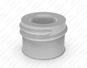 Neck of PET Preform - SP - 410 - 24 - L 3D