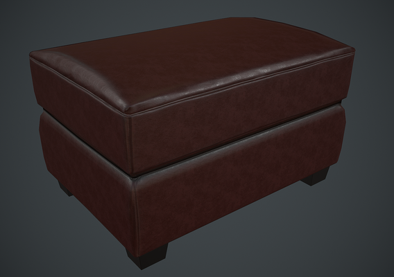 Ottoman leather chair