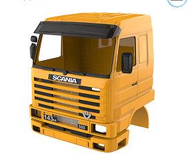 3D print model Scania 143 Cabin - Full Professional