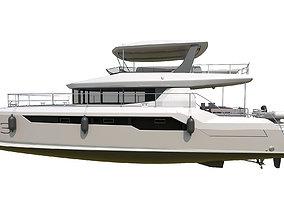 ship 3D model Leopard 53 powercat