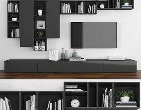 3D model game-ready Tv stand