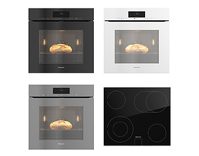 3D Single Oven by Miele H7860BPX with Bread collection 01