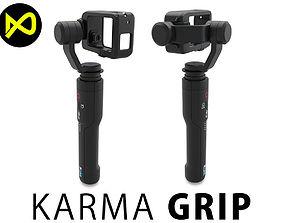 3D model GoPro Karma Grip For Hero 5
