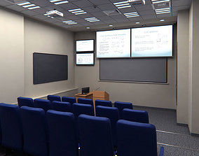 Presentation Room Auditorium 3D asset