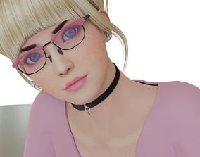 3D model realtime Cute Girl