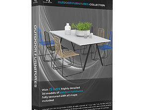 Outdoor furnitures Volumepack 16 models
