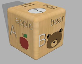 3D printable model Cubes with alphabet