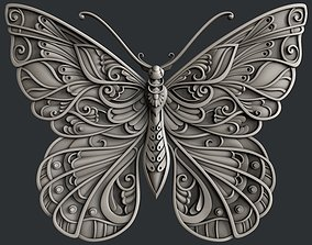 3d STL models for CNC router and 3d printer butterfly
