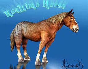3D asset Realtime Horse