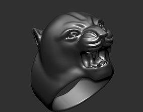 puma man ring 3D print model