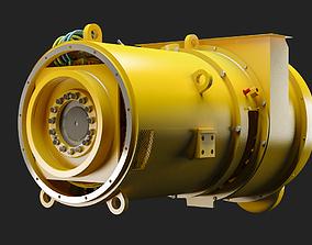 Electric Alternator - Alternador Electrico 3D model