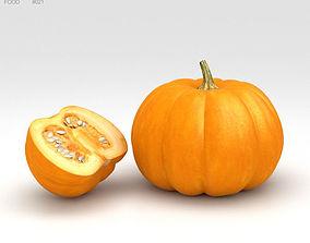 3D model garden Pumpkin