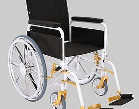 Wheelchair 3D hospital