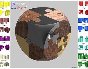 Puzzle Dice1 3D print model