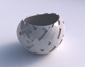 Bowl compressed 2 with cavities 3D printable model