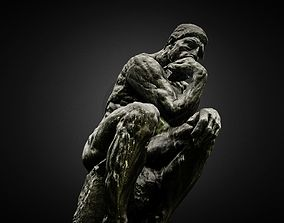 Thinker high poly photogrammetry scan 3D model