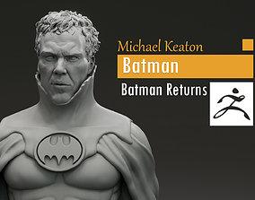 Michael Keaton - Batman - Batman 3D printable model