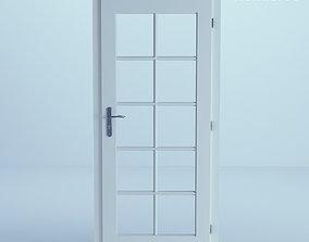minimalist White Door 40 3D