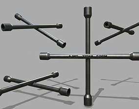 3D model Lug Wrench
