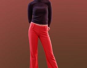 Myriam 10159 - Standing Elegant Girl 3D model